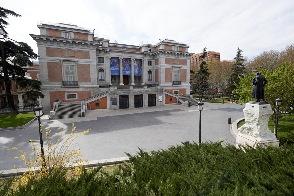 Cultural Industry Suffers COVID-19 in Madrid