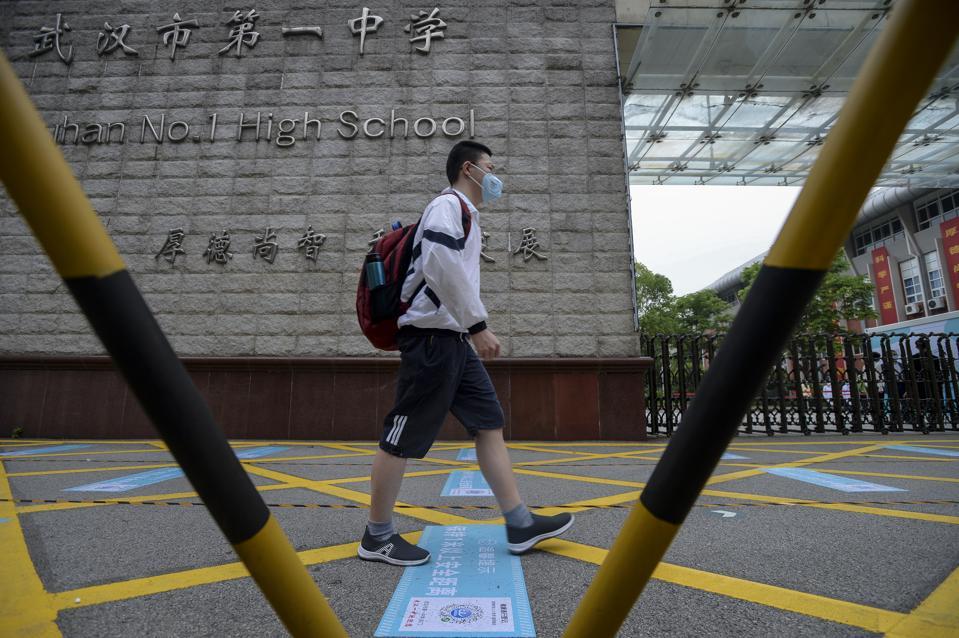 CHINA WUHAN RESUMES SCHOOLS