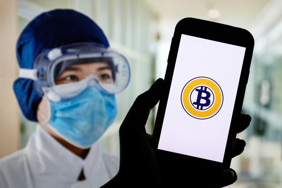 Coronavirus crisis has seen a speculative frenzy in bitcoin futures