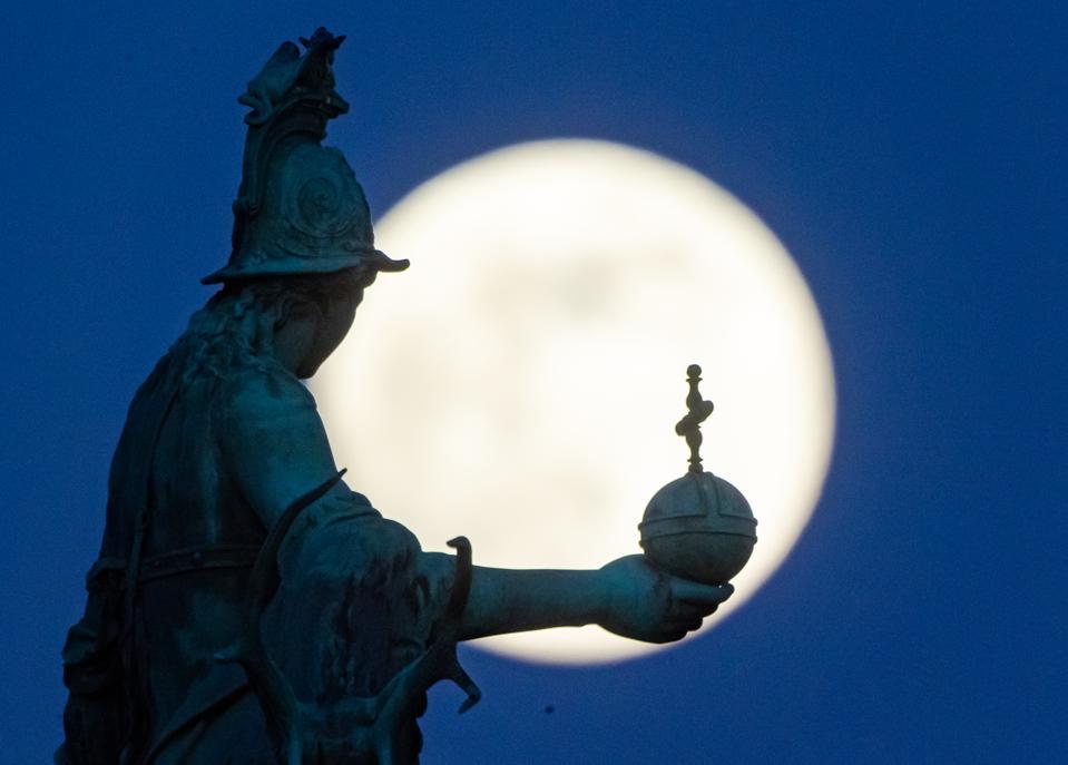 Super Moon over Munich