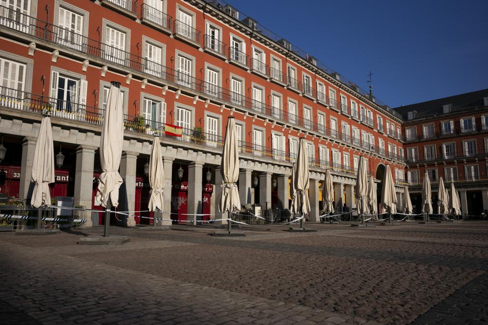Coronavirus Emergency In Spain
