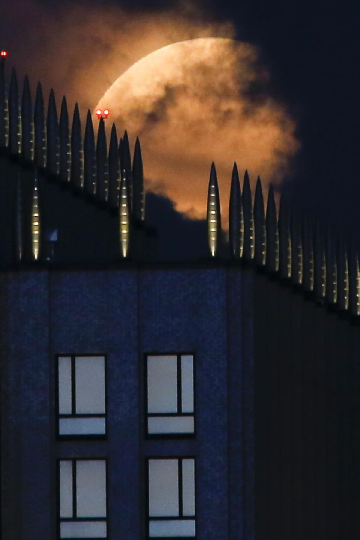 Full Super Moon in Russia