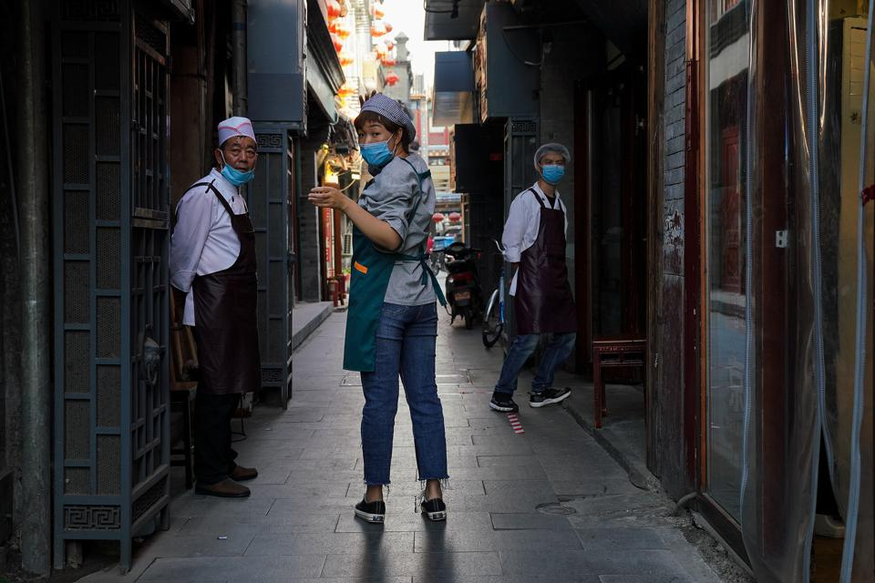 Daily Life In Beijing As Coronavirus Outbreak Starts To Become Largely Under Control