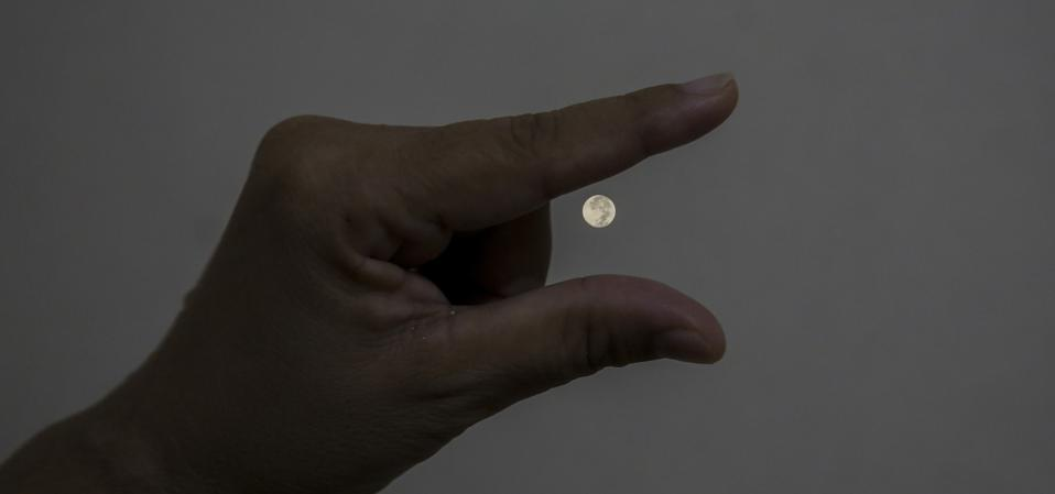Mays Flower Supermoon In Indonesia