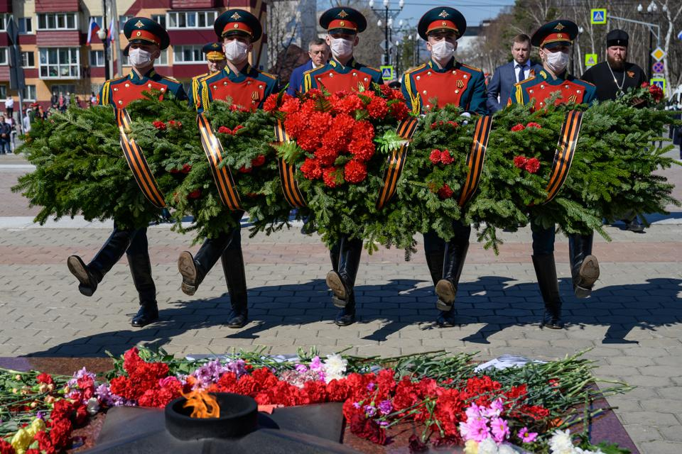 Events mark 75th anniversary of victory over Nazi Germany in WWII in Yuzhno-Sakhalinsk