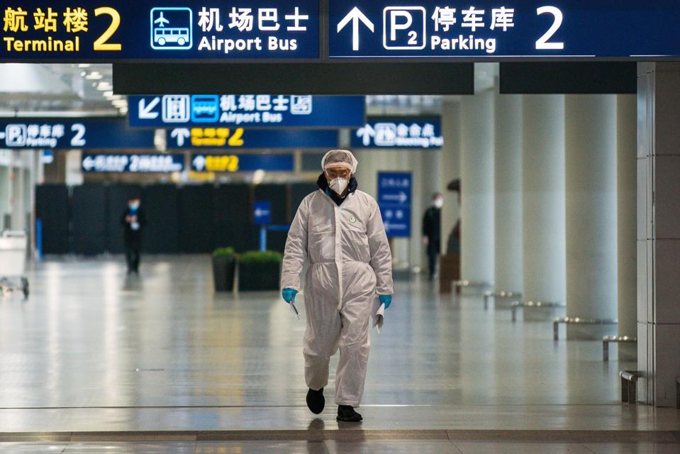 Shanghai Works To Contain Spread Of Coronavirus