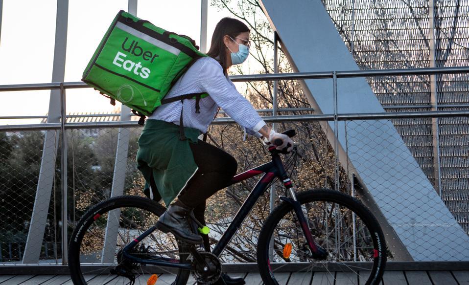 Uber Coronavirus Drivers Delivery Sick