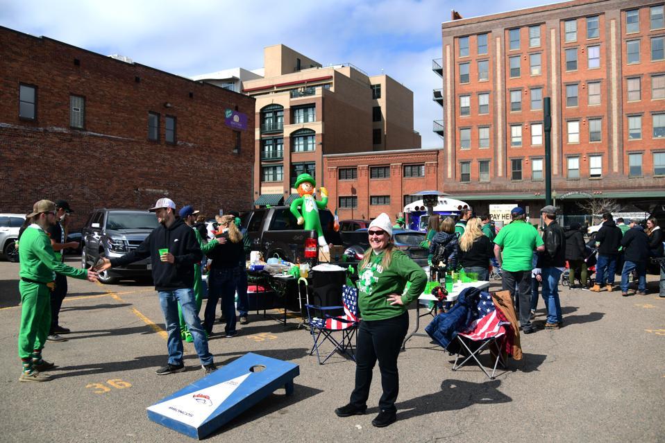 St. Patricks day, Coronavirus, Denver,