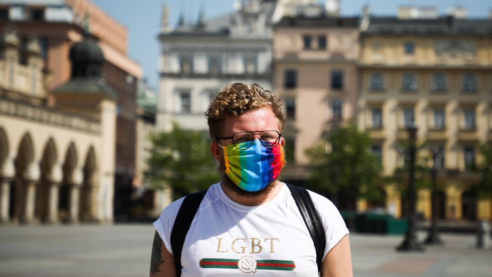 Free Rainbow Masks In Krakow