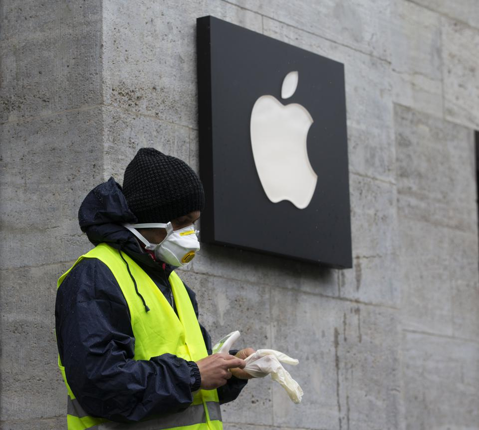 Apple Stores are reopening, but masks will be required.