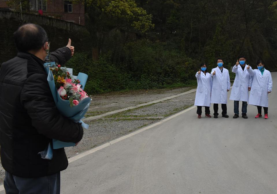 The Last COVID-19 Patient Discharged In Chongqing