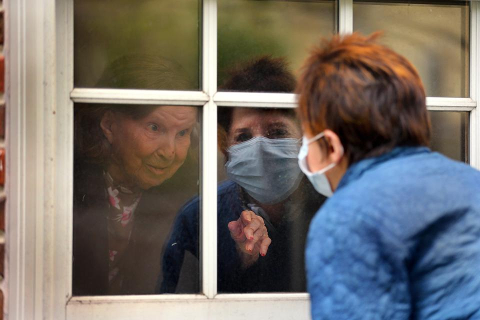 Visting Mothers Through Their Windows