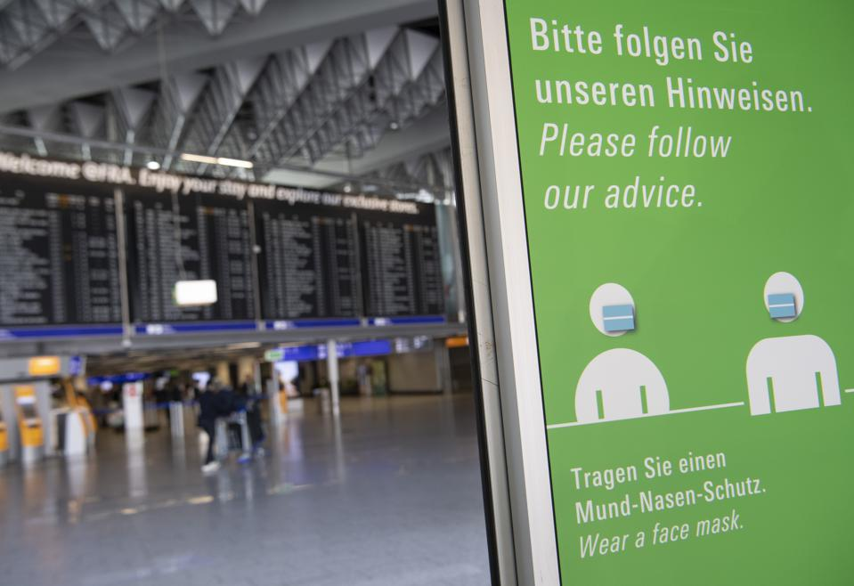 Coronavirus - Frankfurt am Main - airport - lockdown - flights - europe