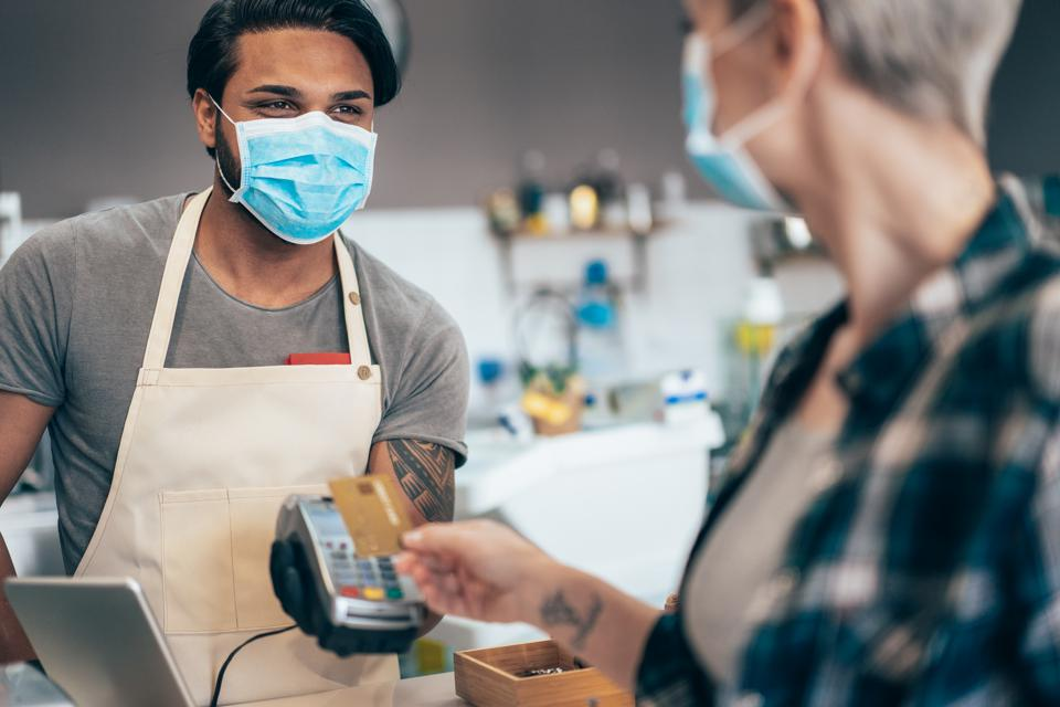 Contactless payment and Coronavirus