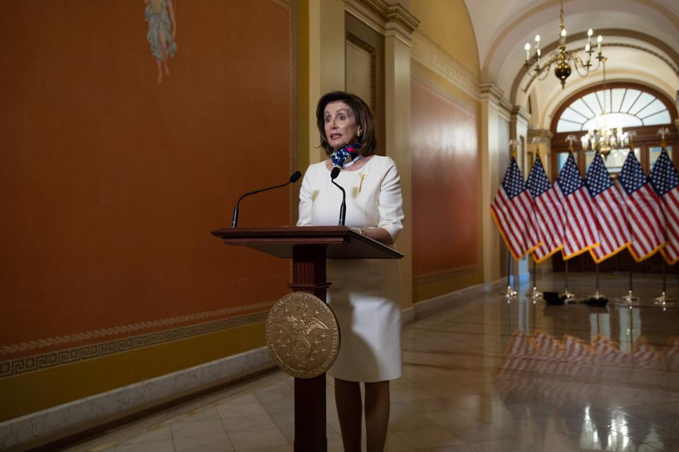 House Speaker Nancy Pelosi Delivers Statement