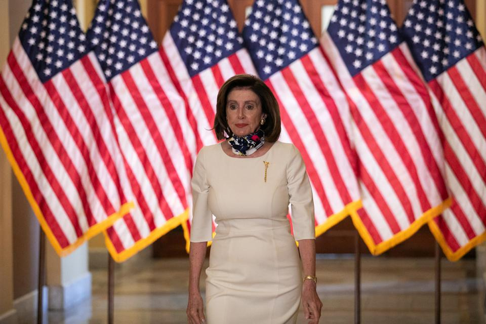 Stimulus checks, hazard pay, essential workers, Heroes Act, Nancy Pelosi, $1,200 Stimulus