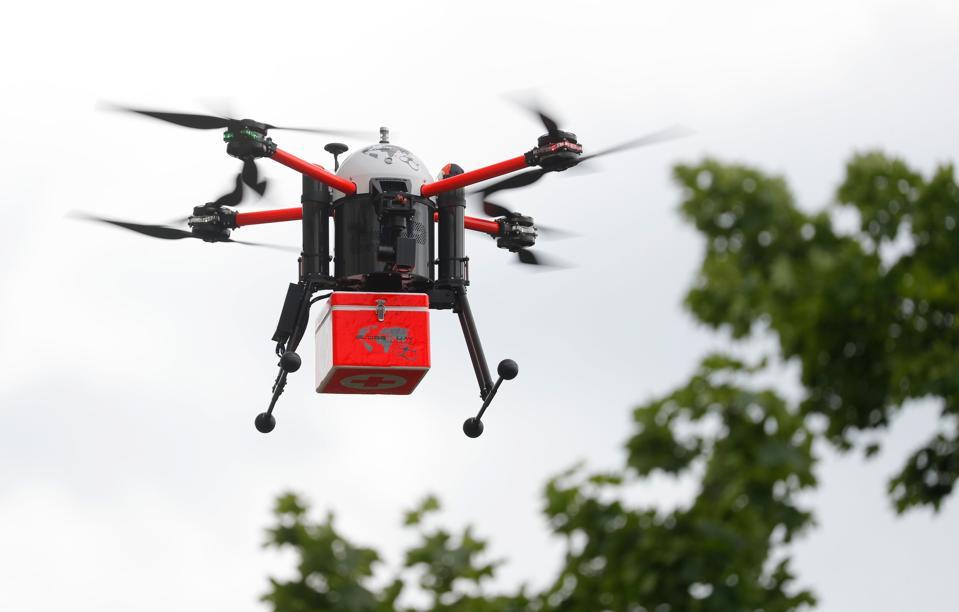 GERMANY-HEALTH-VIRUS-DIGITAL-INFRASTRUCTURE-DRONE-SUPPLY