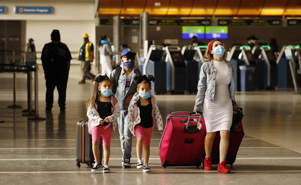 Airports US travel ban on Europeans to ease up says US president Donald Trump