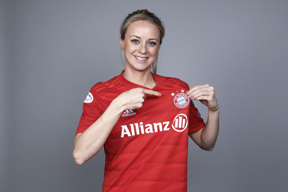 UEFA Women's Champions League Portrait Shoots: Bayern Munich