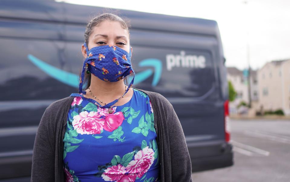 US-HEALTH-VIRUS-IT-WORK-AMAZON