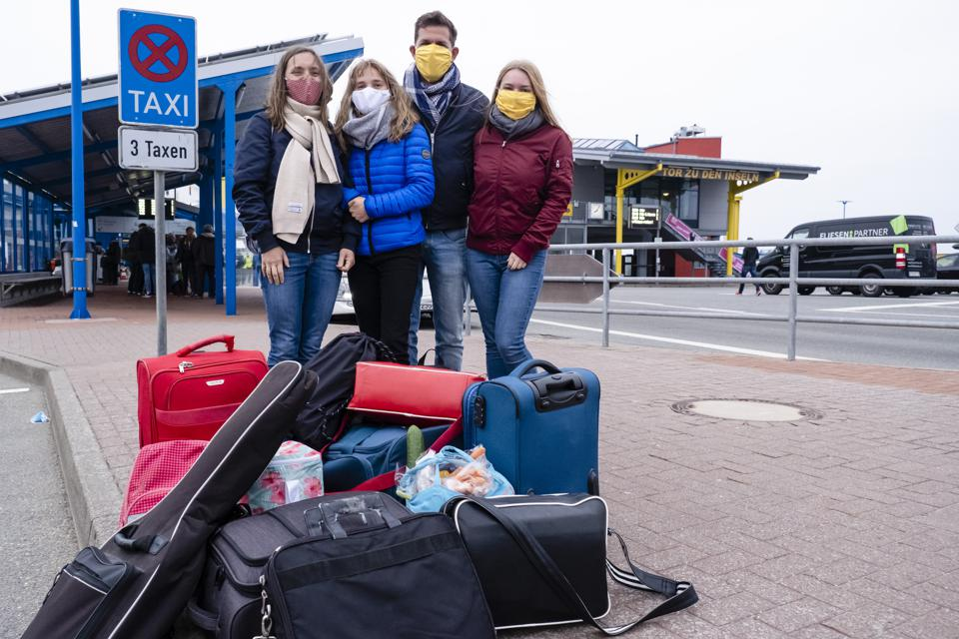 Corona Crisis - Relaxation in Schleswig-Holstein