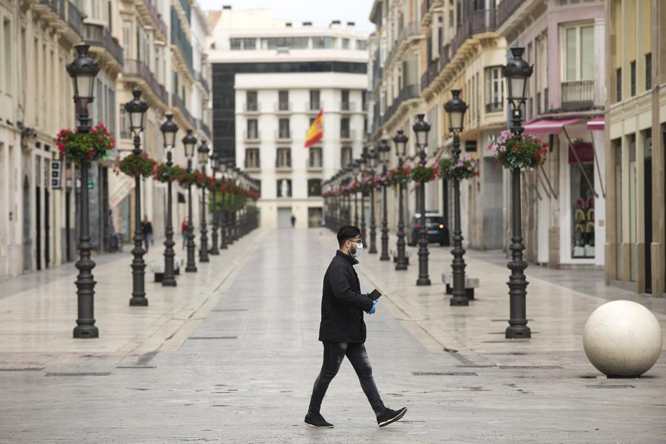 Spain Continues Nationwide Lockdown To Combat The Coronavirus