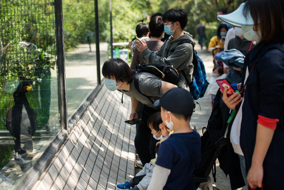 Daily Life In Shanghai Amid Covid-19