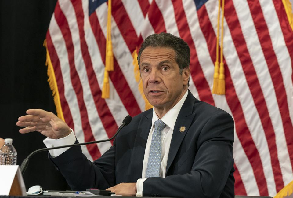 Governor Cuomo makes an announcement and holds briefing on...