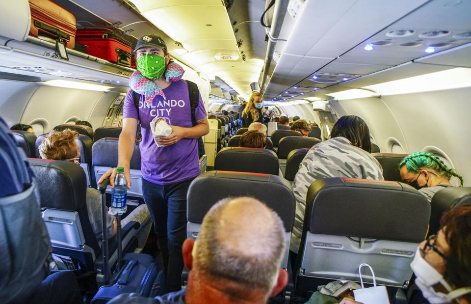 Airline Industry Continues To Be Economically Devastated By Coronavirus Pandemic