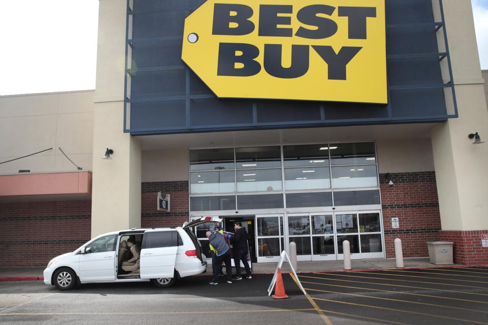 Best Buy Stores Institute Out Of Store Pick Ups Only
