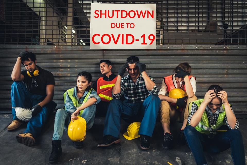 Factory shutdown due to the outbreak of Coronavirus Disease 2019 or COVID-19.