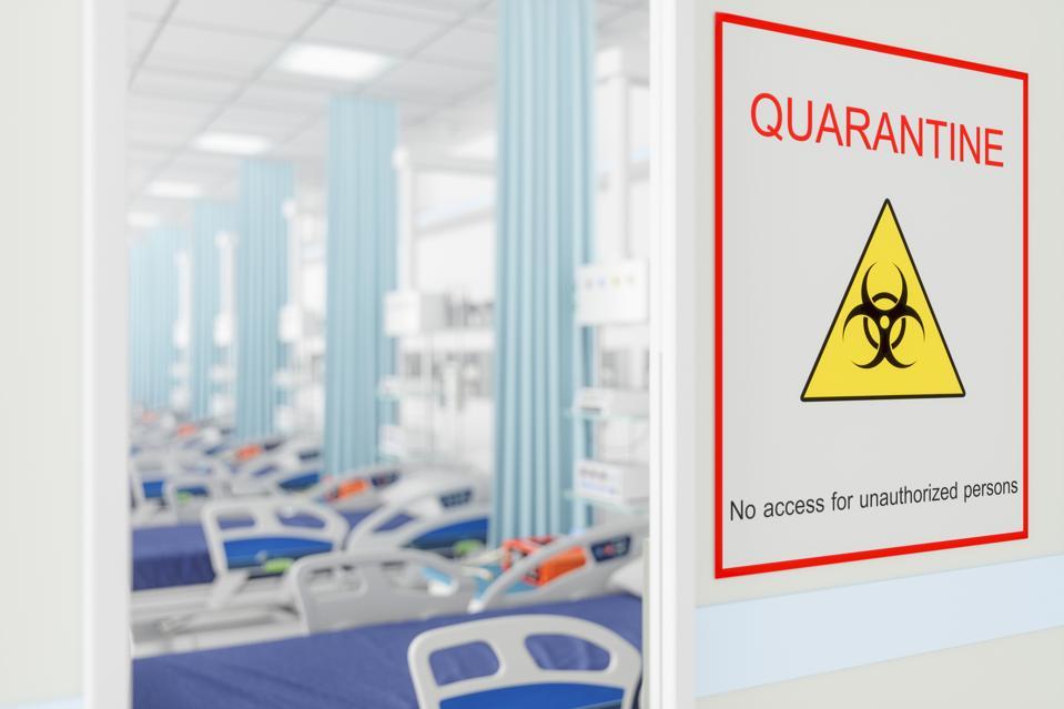Quarantine Room in Hospital