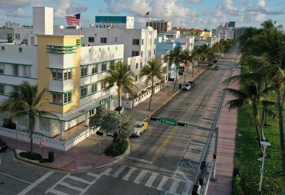 Miami Hotels Close Their Doors As Coronavirus Spreads In Florida