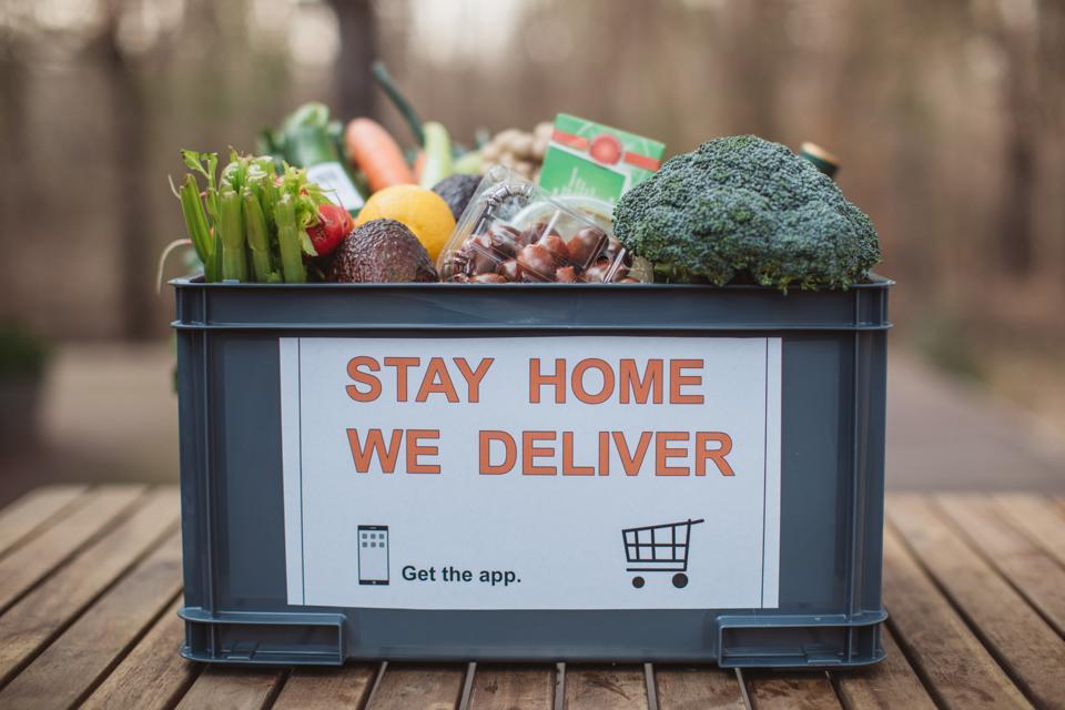 Food delivering