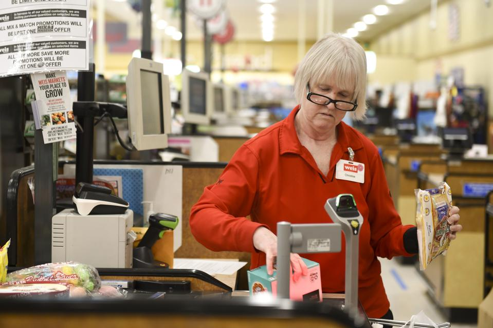 Grocery Store Workers In High Demand