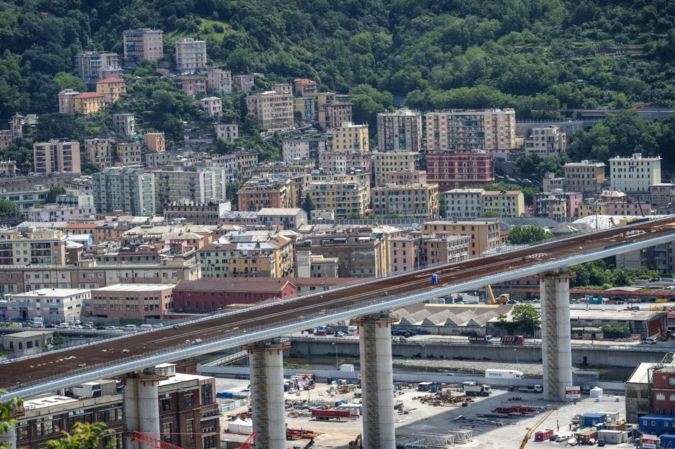Italy Completes New Genoa Bridge After 2018 Deadly Disaster