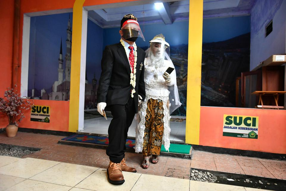 Indonesian Muslims Traditional Wedding Ceremony