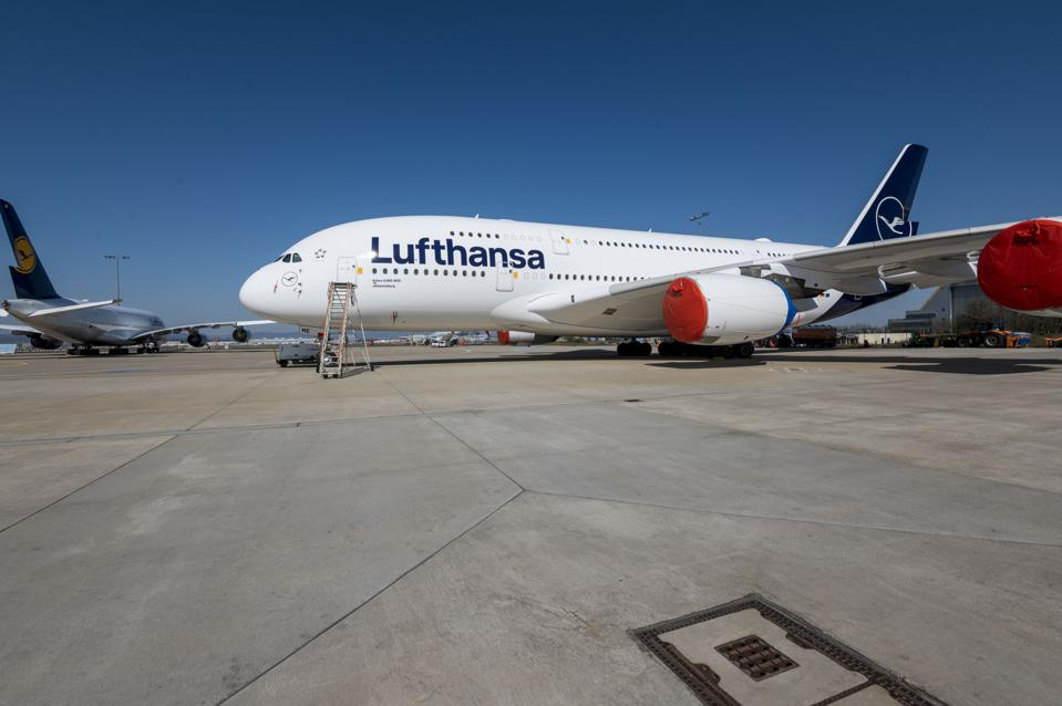 Lufthansa Pulls 700 Of 763 Planes From Service Due To Coronavirus Consequences