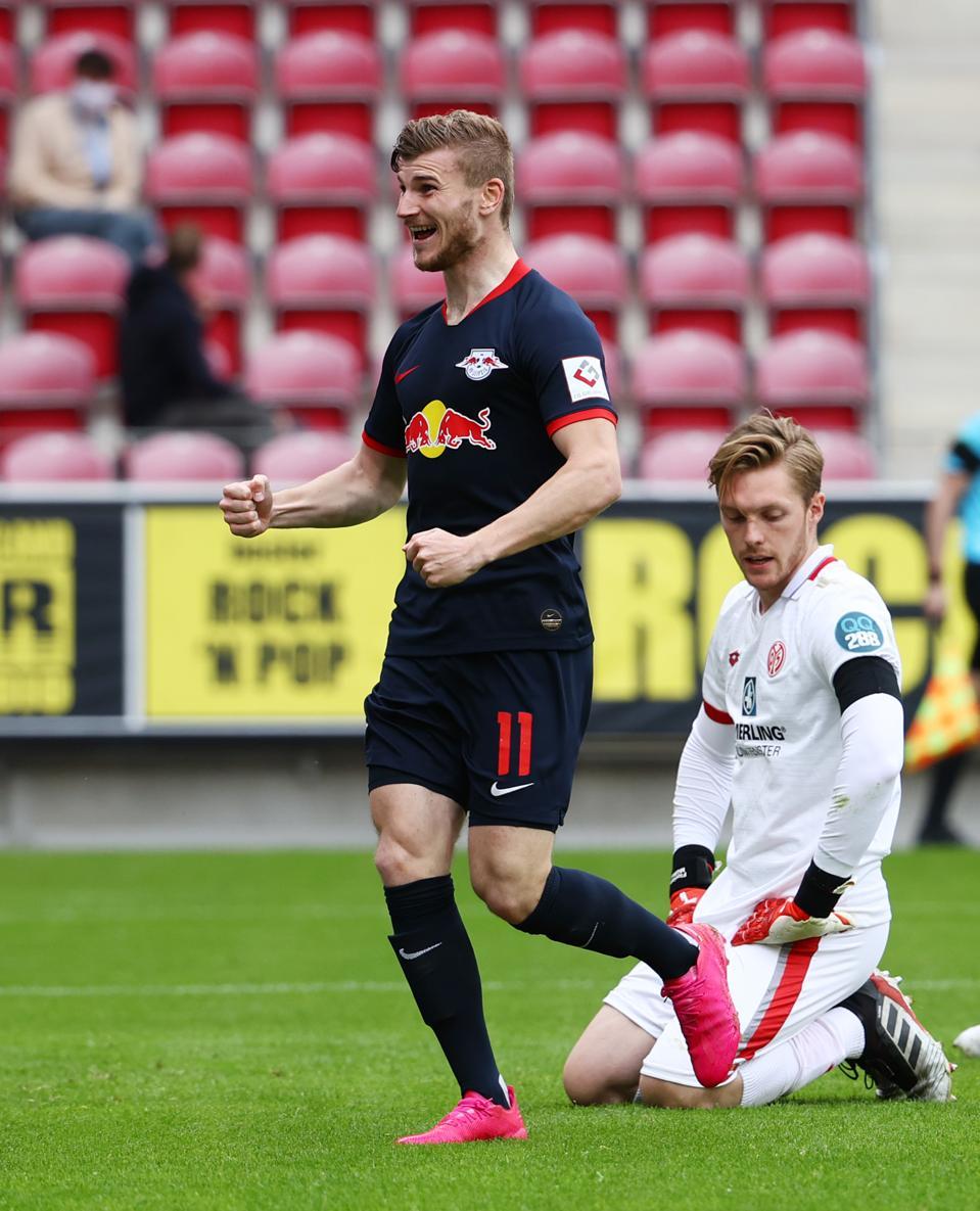 Timo Werner Leipzig Celebrates