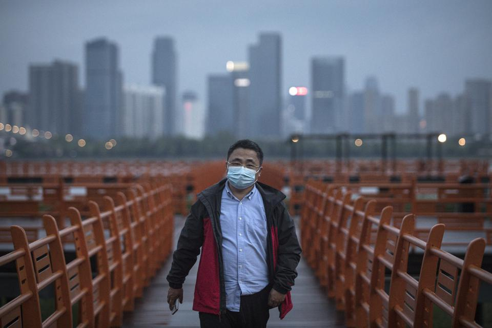 Parks Open To The Public Gradually In Wuhan As Coronavirus Cases Under Control