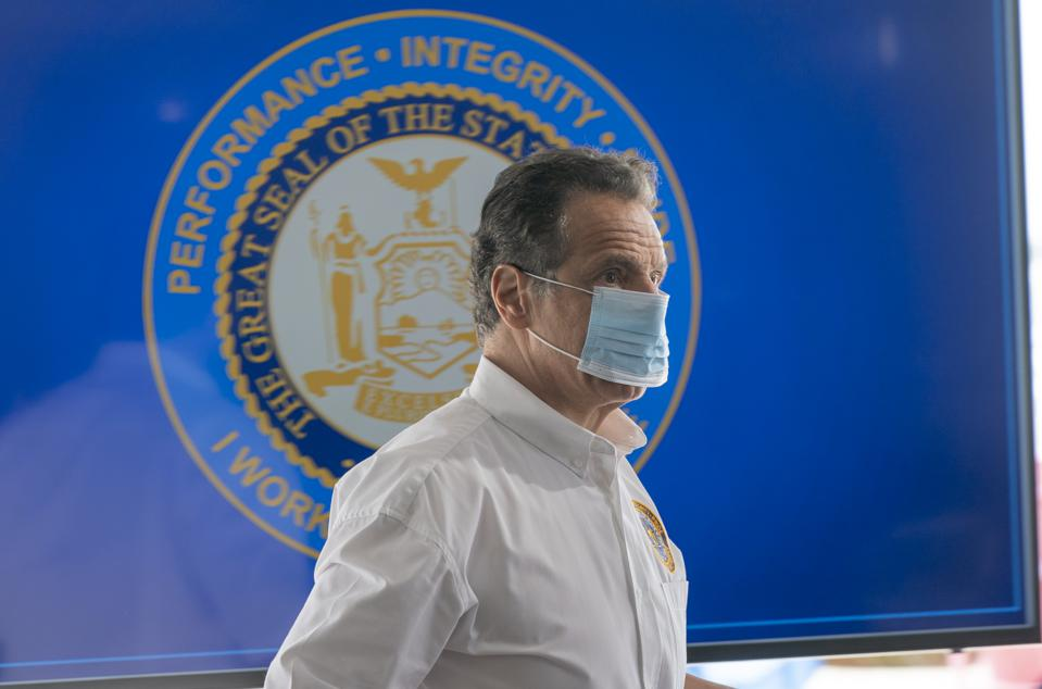 Governor Cuomo Holds Briefing on COVID-19 Response in Wantagh, US