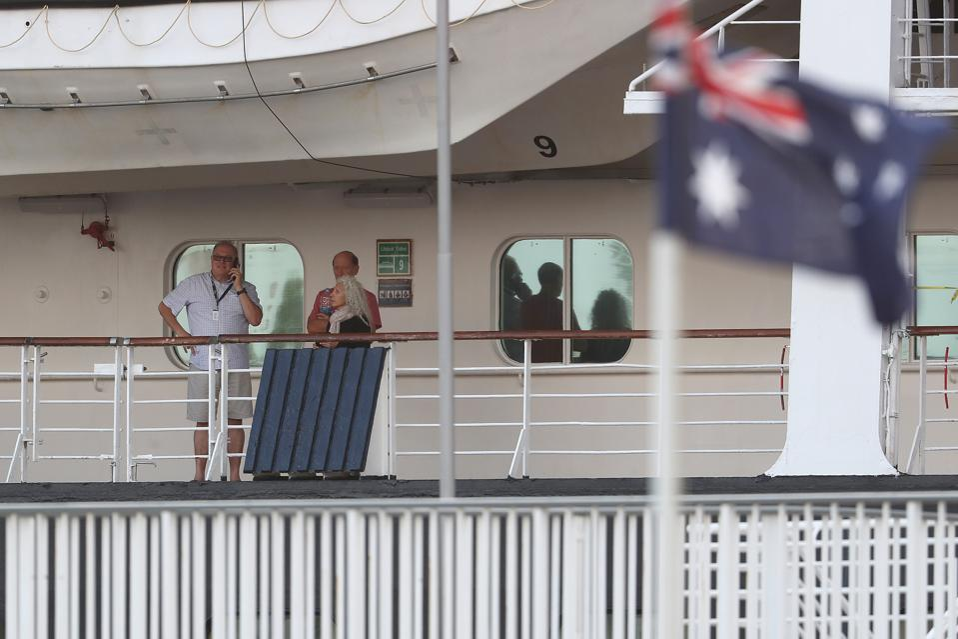 Cruise Ship Passengers Quarantined Coronavirus Fears Australia Perth