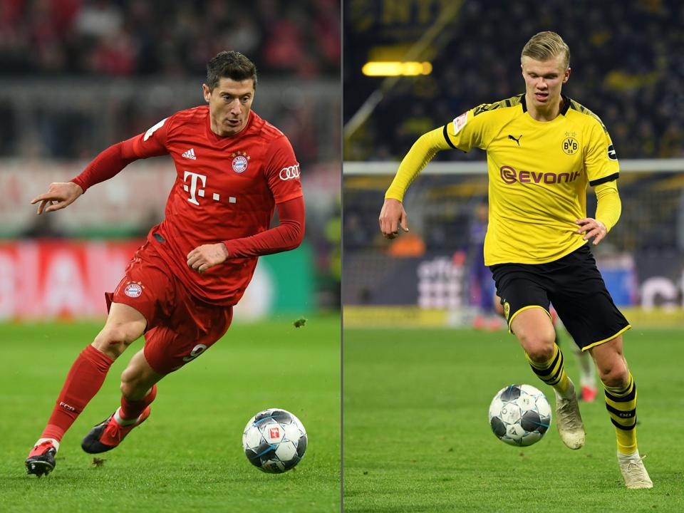The Bundesliga Is Using Cloud And Ai To Power New Stats For Der Klassiker
