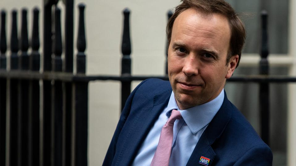 Matt Hancock U.K. Health Secretary