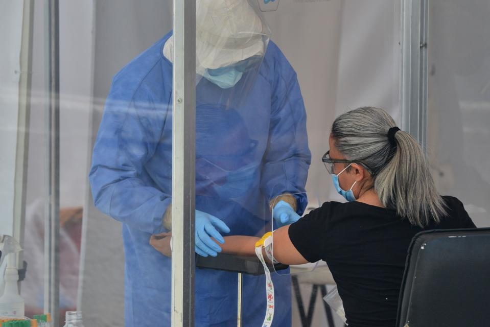 Swab Testing of COVID-19 During The Pandemic
