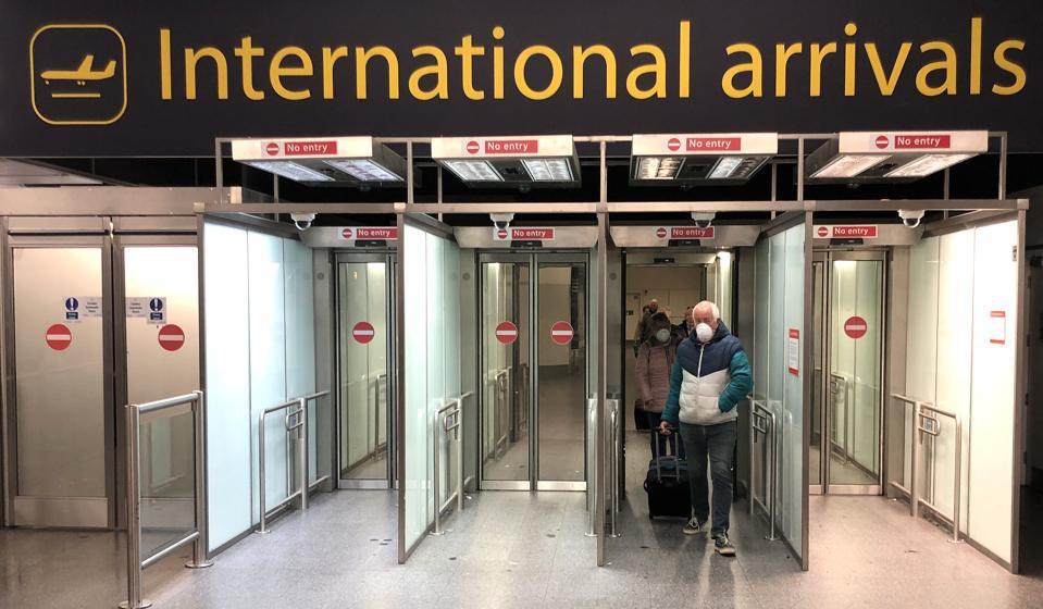 British Citizens Return Back To The UK Following Lockdown Due To Coronavirus Pandemic