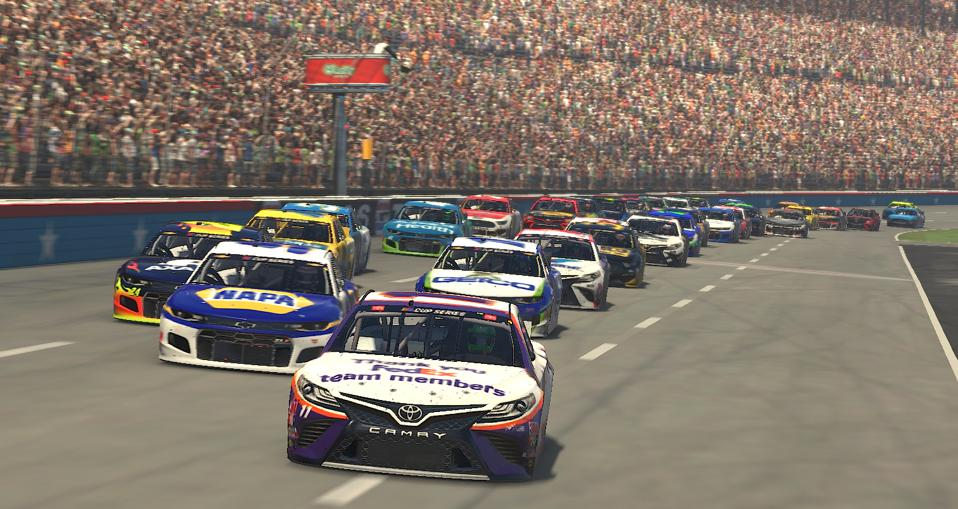 eNASCAR iRacing Pro Invitational Series Race - O'Reilly Auto Parts 125