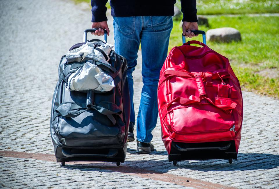 What is a red travel advisory?