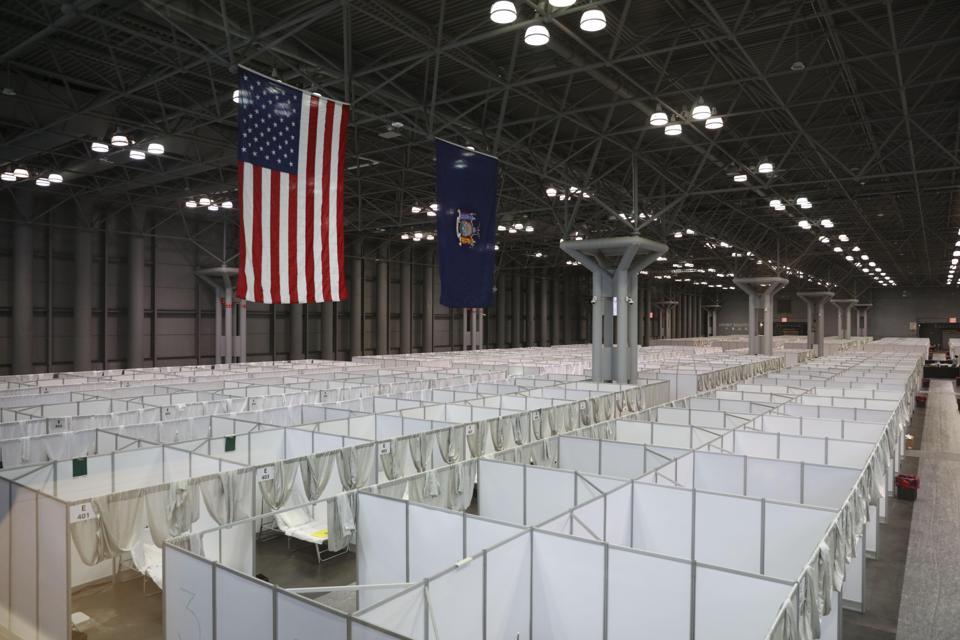 Makeshift Hospitals Set Up In US