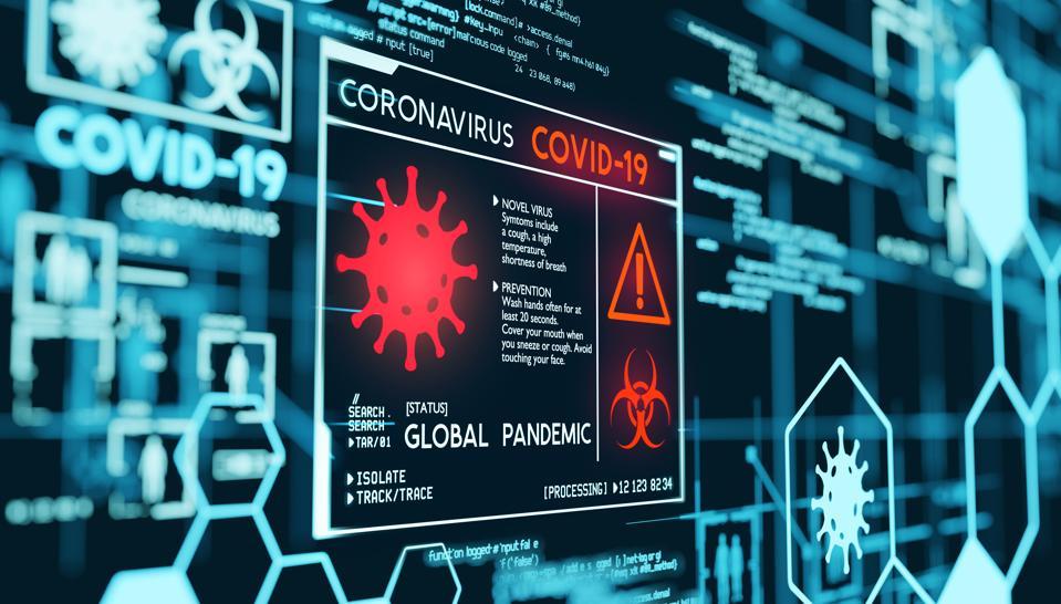 Coronavirus Covid-19 Pandemic Data Visualization